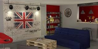 chambre deco londres chambre deco simple deco chambre union u visuel with