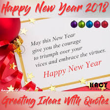 new year wish card happy new year greeting card 2018 ideas with quotes kacyworld