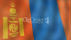 Mongolia Flag Mongolia Waving Flag Detail Royalty Free Video And Stock Footage