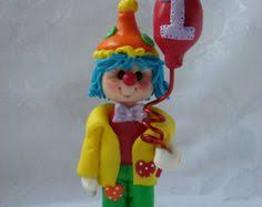 polymer clay clown ornaments search clowning