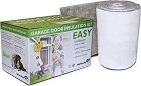 garage door insulation kit diy r 9 complete garage insulation