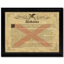state vintage history flag home décor office wall art rustic