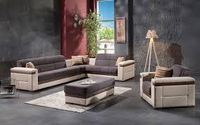 moon gray sectional sofa ottoman moon sunset furniture sectional