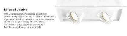 wac low voltage recessed lighting recessed lighting wac lighting co