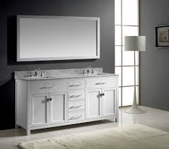 Design Ideas For Brushed Nickel Bathroom Mirror Any Color Brushed Nickel Modern Bathroom Mirror Framed For