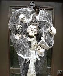 creepy wreath for cheap u2014 crafthubs