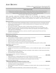 Hr Resume Templates Sample Resume Of Hr Manager