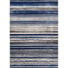 Blue Brown Area Rugs 5 X 7 Blue Area Rugs Rugs The Home Depot