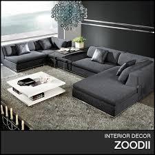 Latest New Design Modern Corner Sofa With Chaise Sb Buy - Corner sofa design