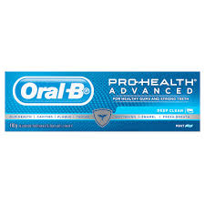 buy pro health advanced toothpaste deep clean mint 110 g by oral b