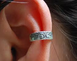 conch piercing cuff conch piercing no piercing needed clip on ear cuff conch