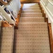 Stairs And Landing Ideas by Check Out This Custom Stanton Carpet Stair Runner That We