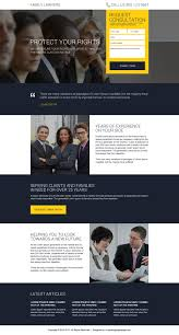best family lawyer lead magnet landing page design attorney and