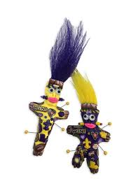 new orleans voodoo dolls voodoo doll pin college colors fleurty girl