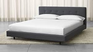 Crate And Barrel Bedroom Furniture Sale King Bed 1799 King Crate Barrel Bedroom Pinterest