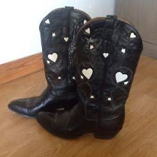 ebay womens leather boots size 9 leather medium b m cowboy 9 boots for ebay
