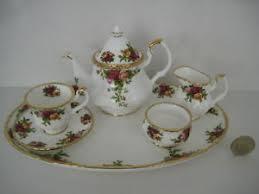 country roses tea set royal albert country roses miniature teapot tea set for