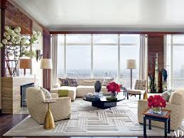 decor and floor jewelry designer kara ross s glamorous penthouse in new york city