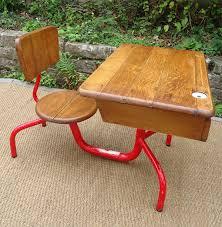 bureau ecolier 1 place attirant bureau d ecolier ancien en bois 1 place 3 ancien bureau