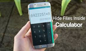 hide files android to hide files folders inside calculator on android