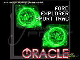 Ford Explorer Green - oracle 01 05 ford explorer sport trac led dual color halo rings