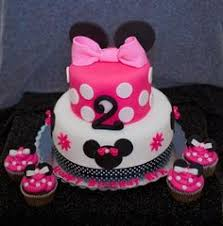 2 year old birthday cake ideas tiered minnie mouse cake for
