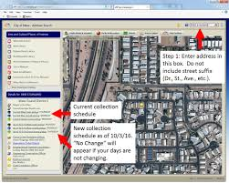Zip Code Map Mesa Az by Collection Schedule Boundary Change City Of Mesa