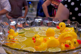 baby shower duck theme rubber ducky baby shower punch home party theme ideas