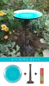 10 beautiful diy bird bath ideas diy bird bath bath ideas and bath