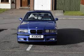 bmw e36 m3 estoril blue bmw e36 m3 evo coupe with smg estoril blue 93k with