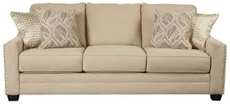 Benchcraft by Ashley Mauricio Sofa with Coil Seat Cushions & Track