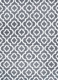 Where To Get Cheap Area Rugs by Gray Trellis Rug Moroccan Panel Design Carpet Cheap Area Rugs