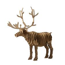 Reindeer Decoration For Christmas by 3d Puzzle Deer Christmas Reindeer Decoration Toy Craft Kids And