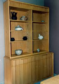 Oak Bookcases With Doors by Bookcases Jesse Woodworks