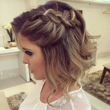 short hairstyles prom hairstyles for short hair half up half