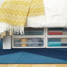 under bed storage drawers underbed drawer the container store