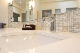 from mid century to contemporary master bathroom midcentury