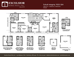 schult integrity 7632 304 excelsior homes west inc