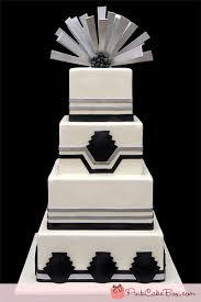art deco wedding cake peapack gladstone nj wedding cakes
