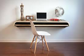 Wall Laptop Desk Minimal Float Wall Desk Uncrate