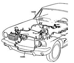 1965 mustang wiring harness ford mustang electrical and wiring wiring harness cal mustang com