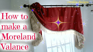 Making A Window Valance How To Make A Morland Valance Youtube