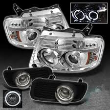 05 ford f150 headlights ford f150 2004 2005 clear halo projector headlights and projector