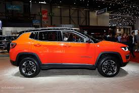 ferrari jeep jeep compass shows off new styling direction in geneva it u0027s a big