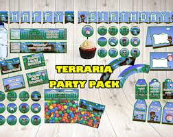 Terraria The Corruption Midi Cover Terraria Wall Decal Set Terraria Gift Terraria Birthday