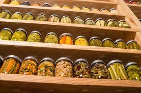 Pantry Shelf Pickles On Pantry Shelf Food U0026 Drink Photos Creative Market