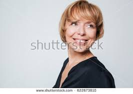 hair i woman s chin sideways sideways stock images royalty free images vectors shutterstock