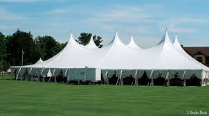 large tent rental 120 wide tension pole tents