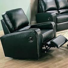 homcom pu leather rocking sofa chair recliner leather rocking chair recliner armchair recliner leather rocking