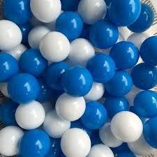 wholesale 100pcs lot eco friendly blue and white plastic pool